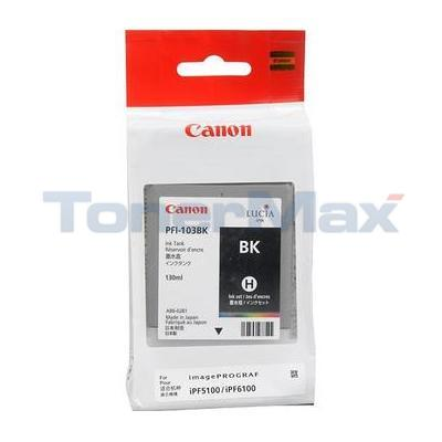 CANON PFI-103 INK TANK BLACK 130ML